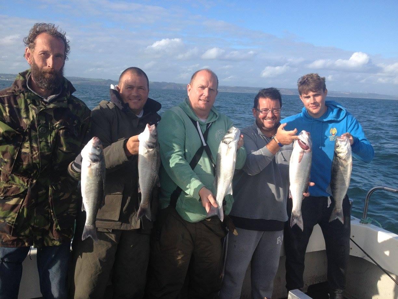 Saundersfoot fishing trips