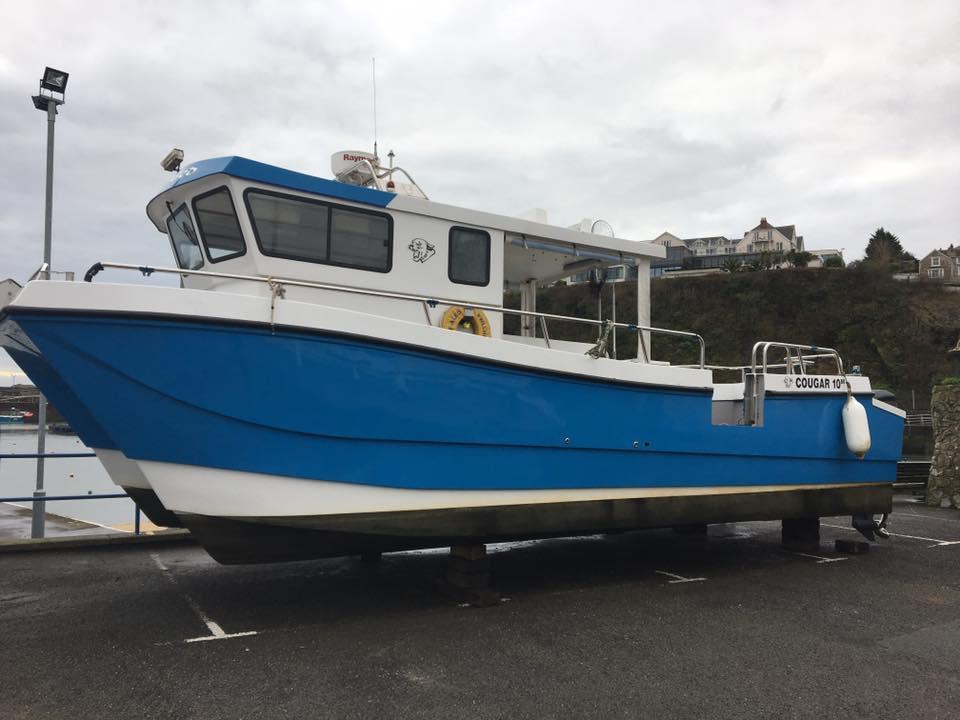 Ebony May charter boat, Saundersfoot
